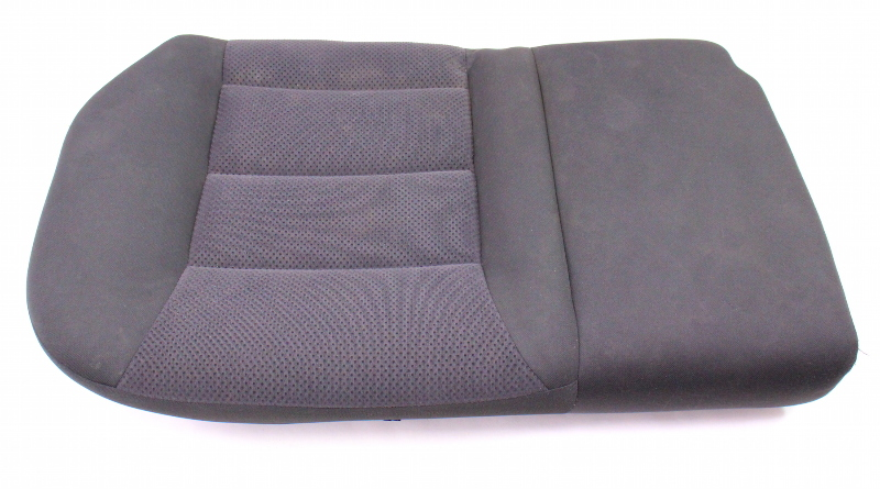 RH Rear Back Seat Cushion & Cover 04-05 VW Jetta Golf MK4 Dark Grey Cloth