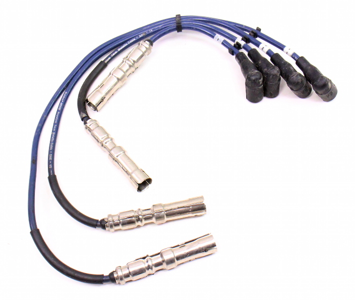Spark Plug Ignition Wires 99-05 VW Golf Jetta Mk4 Beetle 2.0 ~ Belden