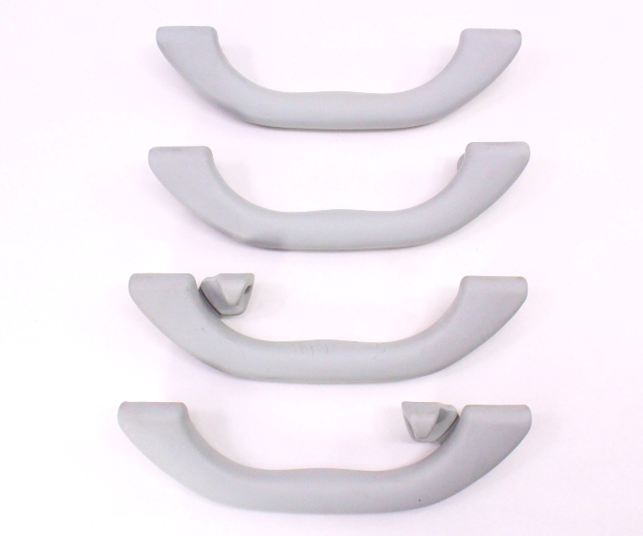 Upper Ceiling Grab Handle Set 01-05 VW Passat B5.5 - Grey - Genuine