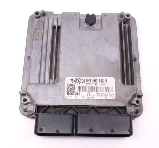 ECU ECM Engine Computer Module 04-05 VW Passat TDI BHW - 038 906 016 R