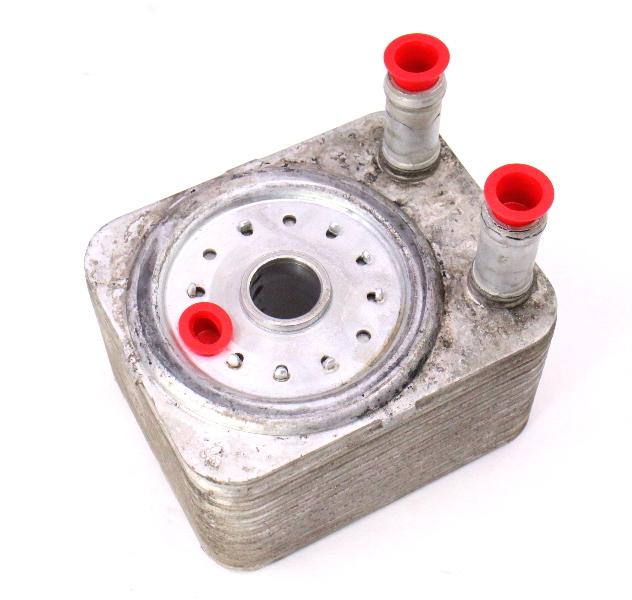 Engine Oil Cooler VW 04-05 Passat TDI BHW Touareg 3.2 3.6 VR6 24v B6 ~ Genuine