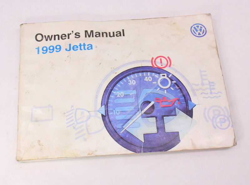 1999    VW       Jetta    Owners Manual Books   Case 9399    VW    Volkswagen Mk3  Genuine