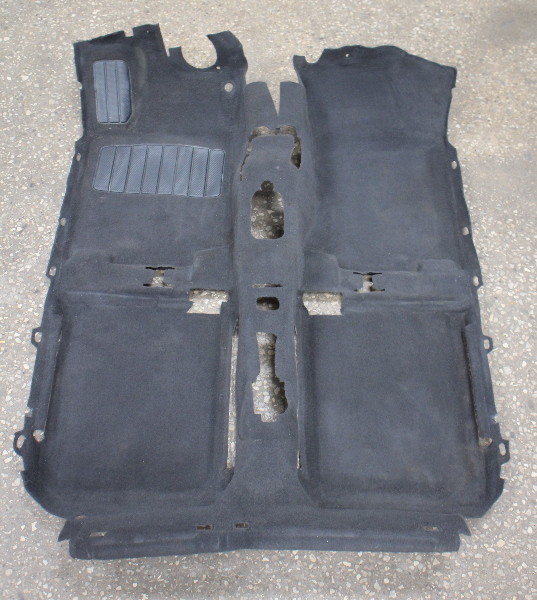 Interior Black Floor Carpet 93 99 Vw Jetta Golf Mk3