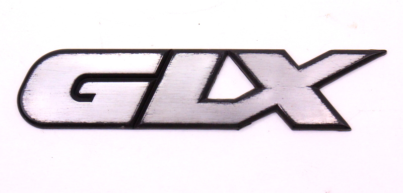 Glx Trunk Emblem Badge 95-99 Vw Jetta Vr6 Mk3
