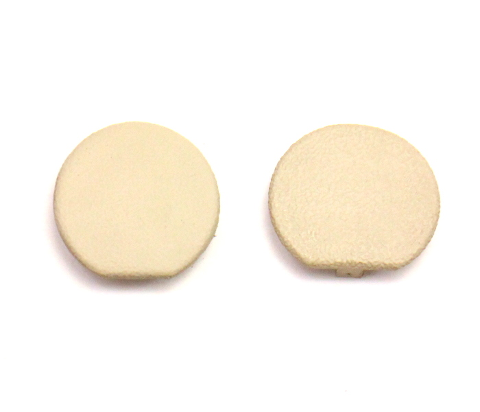 Center Console Bolt Cover Caps 98-10 VW Beetle - Beige - Genuine - 1C0 863 276