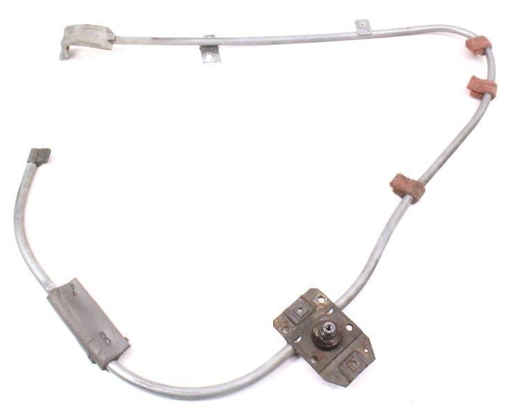 LH Front Window Regulator Track Crank 77-84 VW Rabbit Jetta MK1 - 171 837 401 B