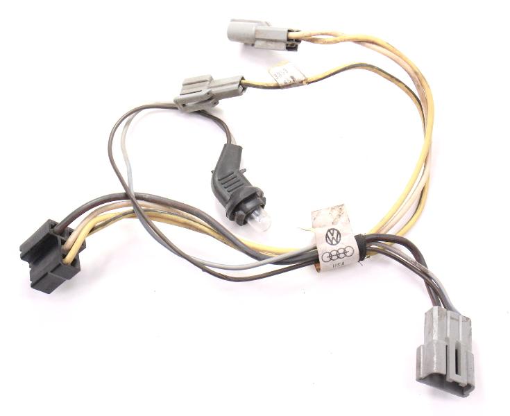 Heater Core Box Blower Wiring Harness 81-84 VW Rabbit Jetta MK1 - 175 971 281 B