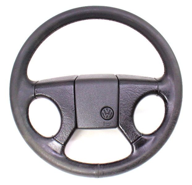 Leather GTI Sport Steering Wheel 85-92 VW Jetta Golf MK2 ~ Genuine ~ 321 419 660