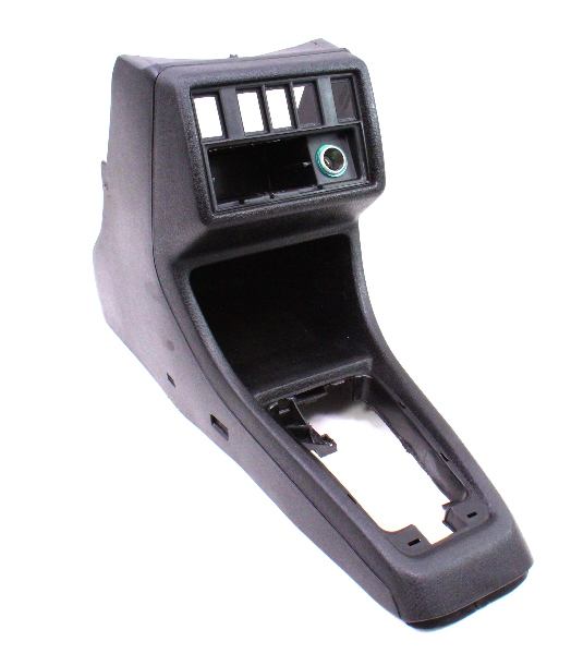 Front Center Console Vw Jetta Golf 85 92 Mk2 Black