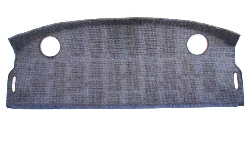 Rear Window Deck Parcel Tray Shelf 85-92 VW Jetta Sedan MK2 - Genuine - Blue