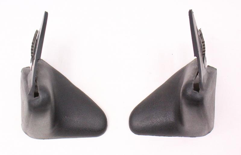 Rear Seat Belt Guide Trim 85-92 VW Jetta Golf MK2 - 167 857 809 / 810
