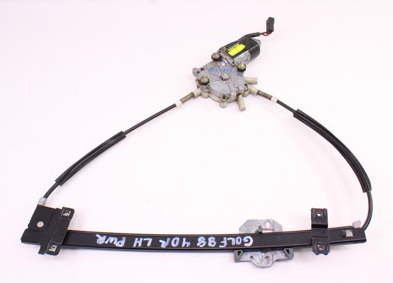 LH Front Power Window Regulator & Motor 88-92 VW Jetta Golf Mk2 - Genuine