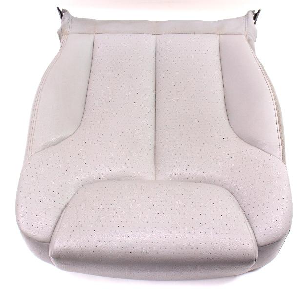RH Front Seat Lower Cushion & Cover 06-10 VW Passat B6  - Grey Vinyl - Genuine