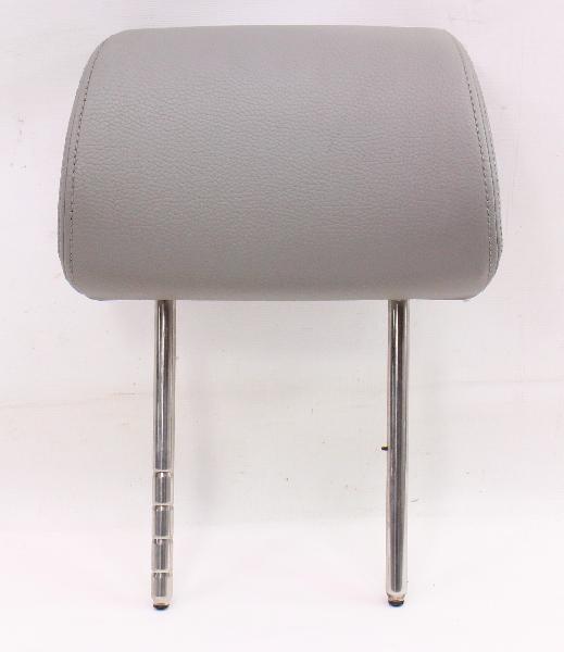 LH Front Seat Head Rest Headrest 06-10 VW Passat B6 - Grey - Genuine