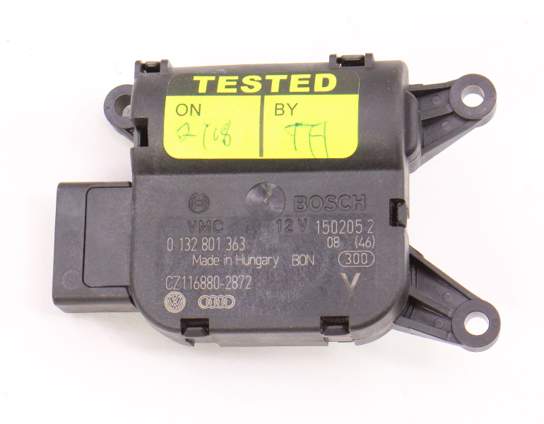 Heater Climate Flap Actuator Motor 06 10 Vw Passat B6 Genuine 0 132 801 363