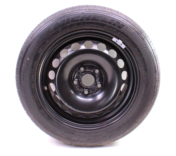 "Full Size Spare Wheel & Tire 16"" x 7"" 06-10 VW Passat B6 5x112 ~ 3C0 601 027 A ~"