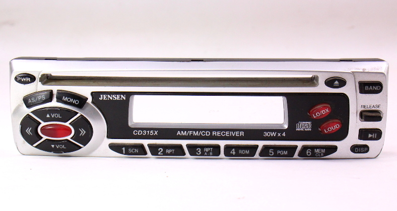 Jensen CD Player Head Unit Radio Face Plate CD315X