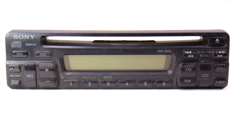 Sony CD Player Head Unit Radio Face Plate CDX-3100