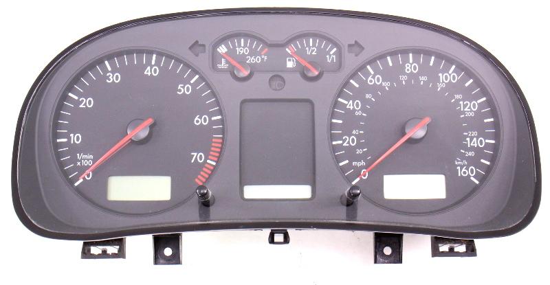 Gauge Cluster Speedometer Speedo 02-03 VW Jetta Golf GTI MK4 ~ 1J0 920 906 N