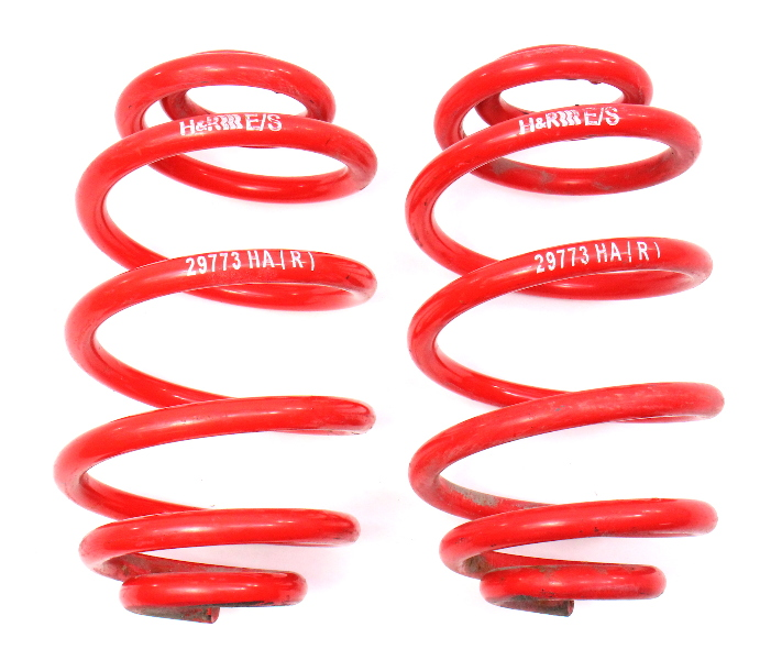 Rear H&R Lowering Spring Set 98-05 VW Passat B5 FWD - 29773HA