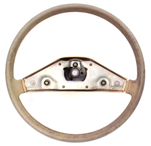 Brown Steering Wheel VW Rabbit Jetta Pickup MK1 ~ Genuine ~