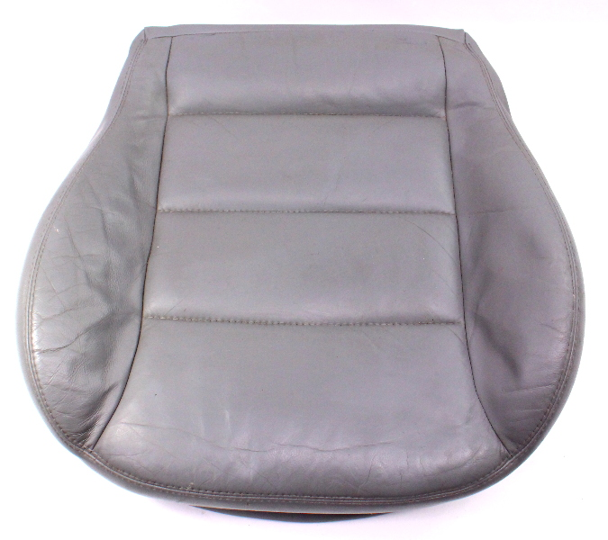 Front Seat Cushion & Cover VW Jetta GTI MK4 Passat B5 ~ Heated Grey Leather ~