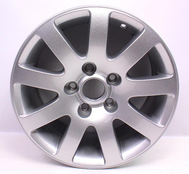 "NOS 15"" Wheel Stock Alloy Aluminum Rim 01-05 VW Passat 5x112 - 3B0 601 025 K"