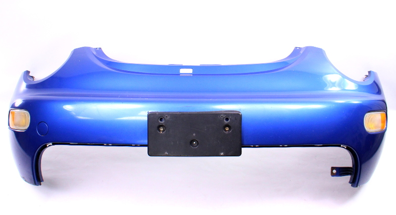 Front Bumper Cover 01-05 Vw Beetle - Lw5y Techno Blue - Genuine