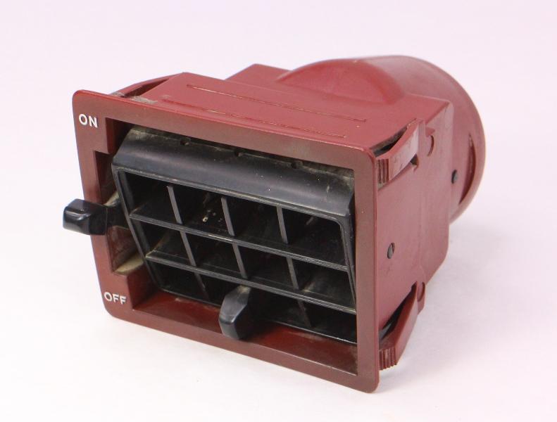 Red Outer Dash Air Vent 81-84 VW Rabbit GTI MK1 ~ Genuine ~ 175 819 701 D