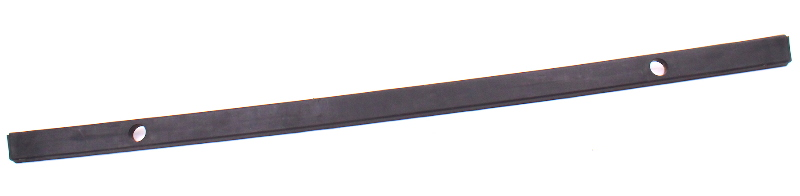 Rear Bumper Rub Strip Trim Molding 81-84 VW Rabbit MK1 - Genuine - 175 807 421 A