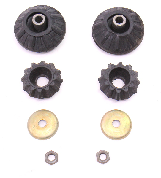 Rear Strut Shock Bushings & Hardware 75-84 VW Jetta Rabbit MK1 171 512 333 / 335