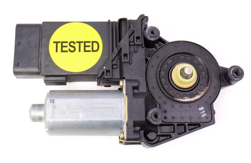 LH Front Power Window Motor 98-01 VW Passat B5 - Genuine - 3B4 837 751 CB
