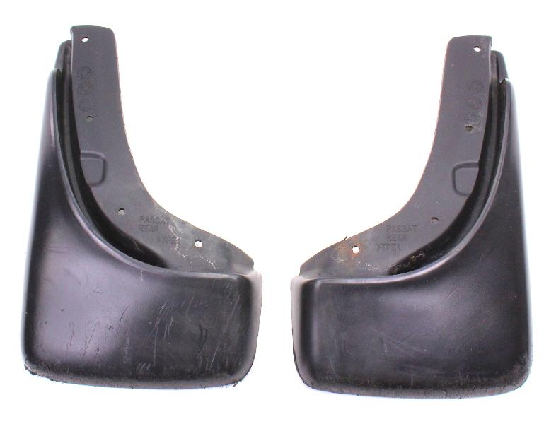 Rear Mud Flaps 98-01 VW Passat B5 Splash Shield Mudflaps - Genuine