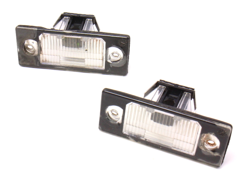 License Plate Trunk Lights Lamps 99 05 Vw Jetta Mk4 Passat