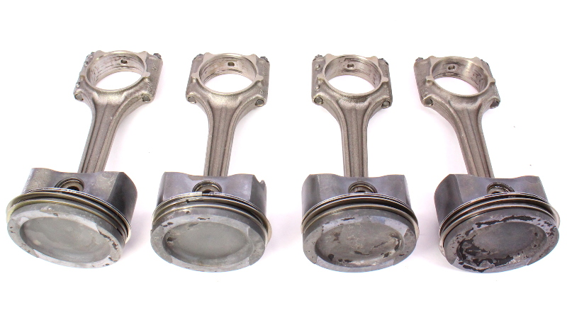 Piston  U0026 Connecting Rod Set Vw Jetta Golf Mk4 Beetle 2 0