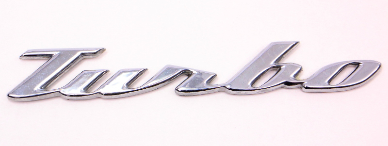 Turbo Hatch Lid Emblem 98
