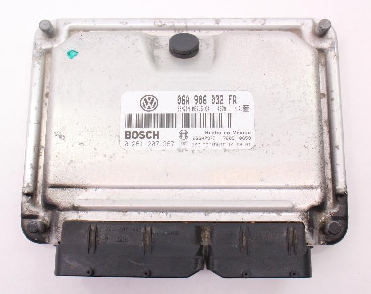 ECU ECM Engine Computer 2002 02 VW Jetta Golf MK4 - 2.0  - 06A 906 032 FR