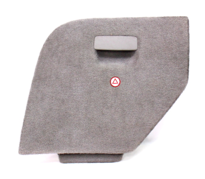 Lh Trunk Side Carpet Door Vw Jetta Wagon Mk4 Hatch Access Panel - Grey