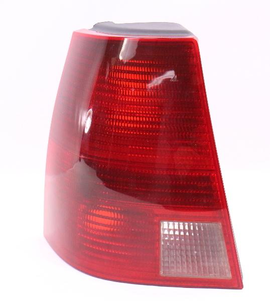 2018 Volkswagen Golf Sportwagen Transmission: LH Taillight Tail Light Lamp 01-05 VW Jetta Wagon MK4