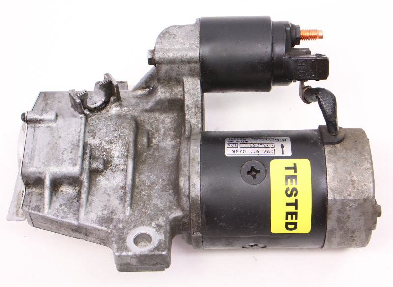 Genuine Vw Hitachi Starter 04 05 Vw Jetta Golf Mk4 Tdi