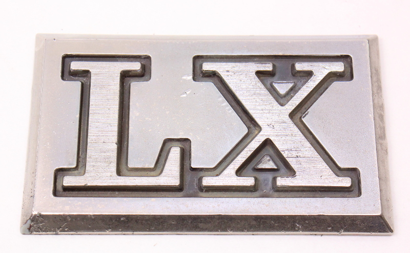LX Bed Badge Emblem 80-83 VW Rabbit Pickup Caddy Truck Mk1 ~ 179 853 687