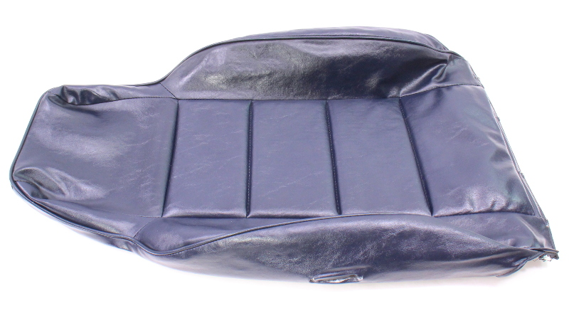 Rh Front Blue Vinyl Back Rest Seat Cover 81 84 Vw Rabbit