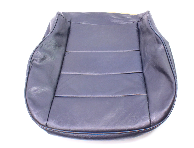 Cp Front Blue Vinyl Lower Seat Cover Vw Rabbit Pickup Caddy Mk Genuine