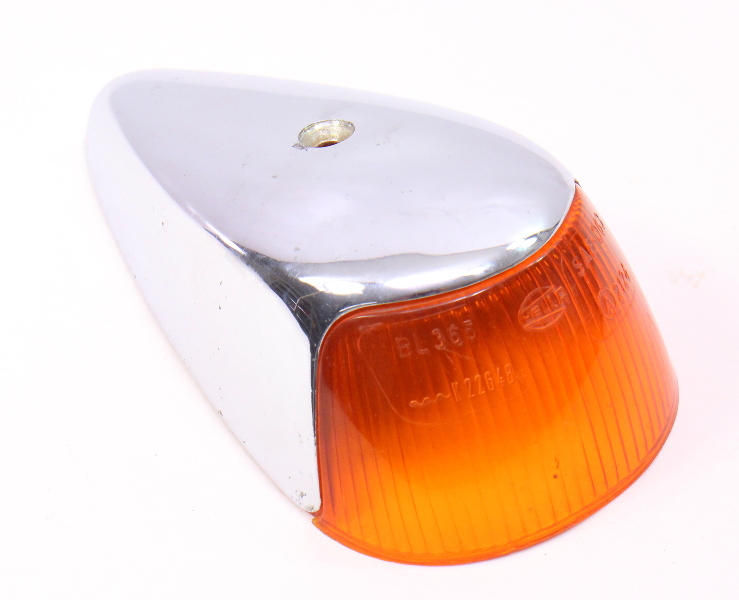 Front Fender Turn Signal Light 64 67 Vw Super Beetle Aircooled Genuine Hella