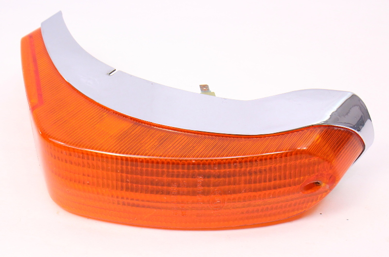 RH Front Turn Signal Light Lamp Lens 70-74 VW Type 3