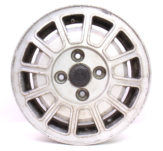 "13"" Alloy Aluminum Wheel Rim 75-81 VW Scirocco MK1 . Genuine . 321 601 025 B"