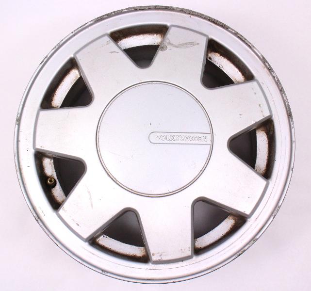 "13"" Alloy Wheel Rim 85-92 VW Cabriolet - Genuine - 191 601 025 J"