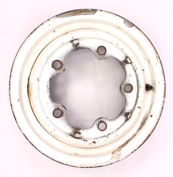 """5 x 14"""" Steel Wheel Rim Wide 5 VW Bus Aircooled - Genuine"""