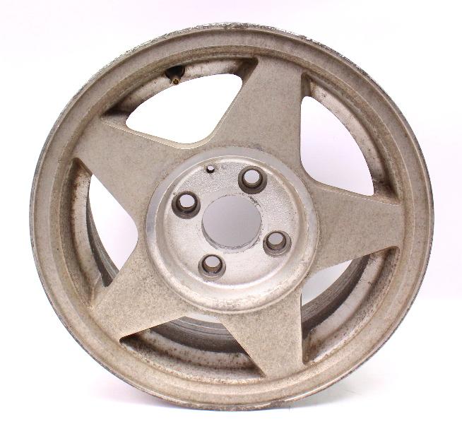 "14"" x 6"" Vintage SenDel Wheel Rim Alloy VW Rabbit MK1 Mk2 4x100 ~"