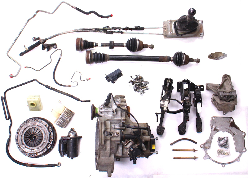 Manual Transmission Swap Parts Kit 99 05 Vw Jetta Golf Gti